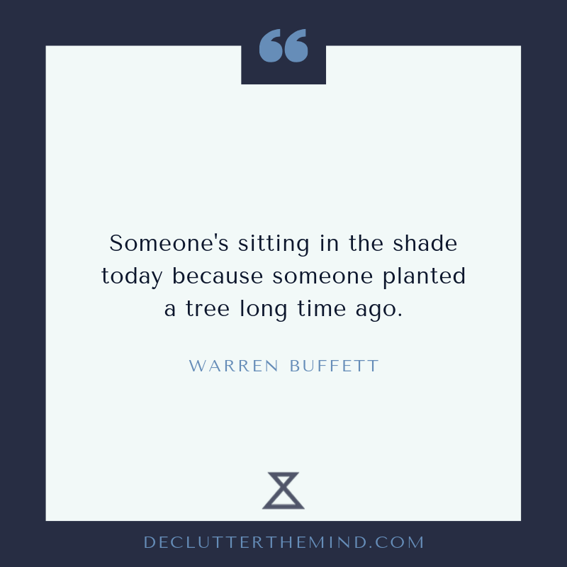 Warren Buffett growth mindset quote