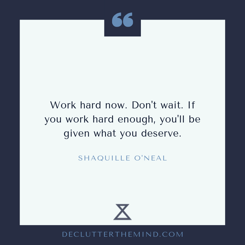 Shaquille growth mindset quote