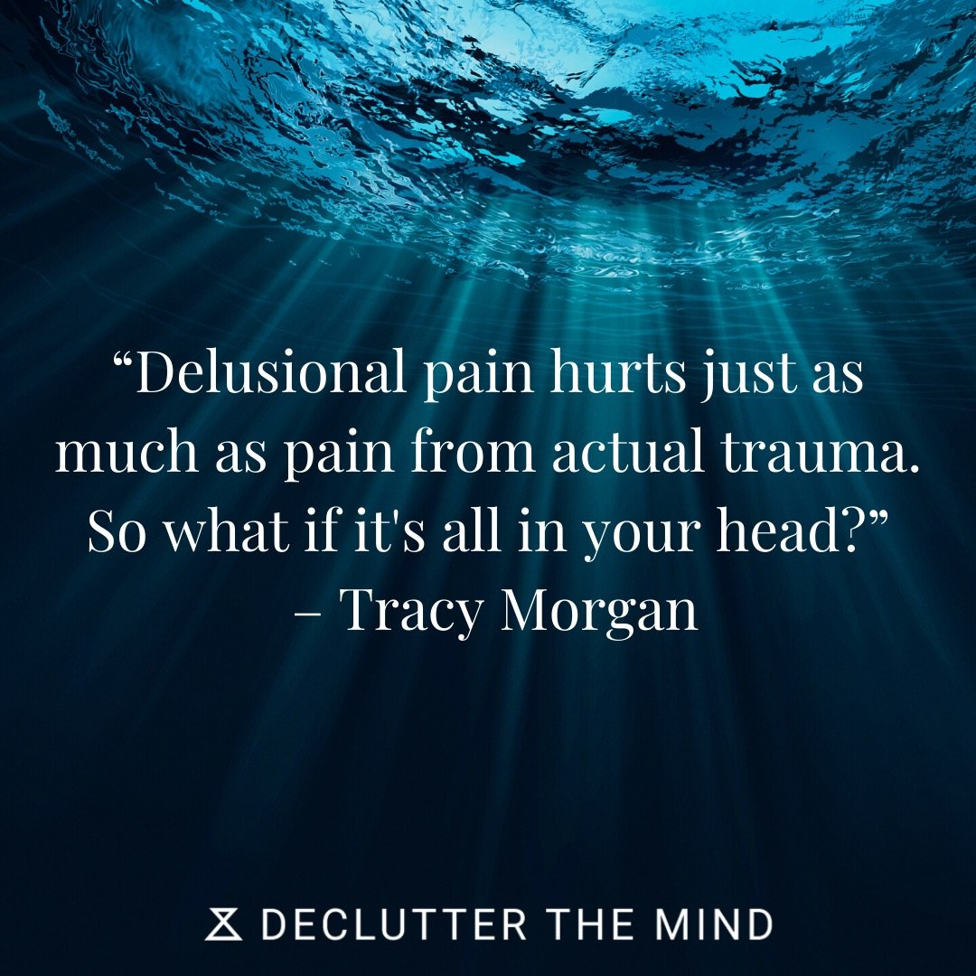 PTSD quote on pain and suffering