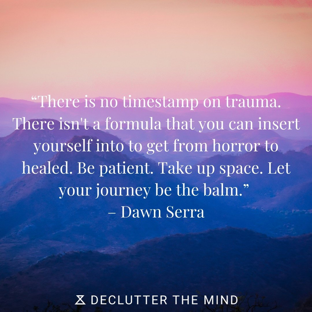 PTSD quote on patience