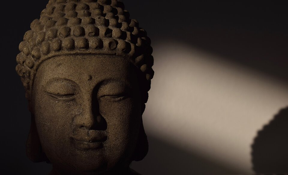 Kindness quotes and the statue of the Buddha
