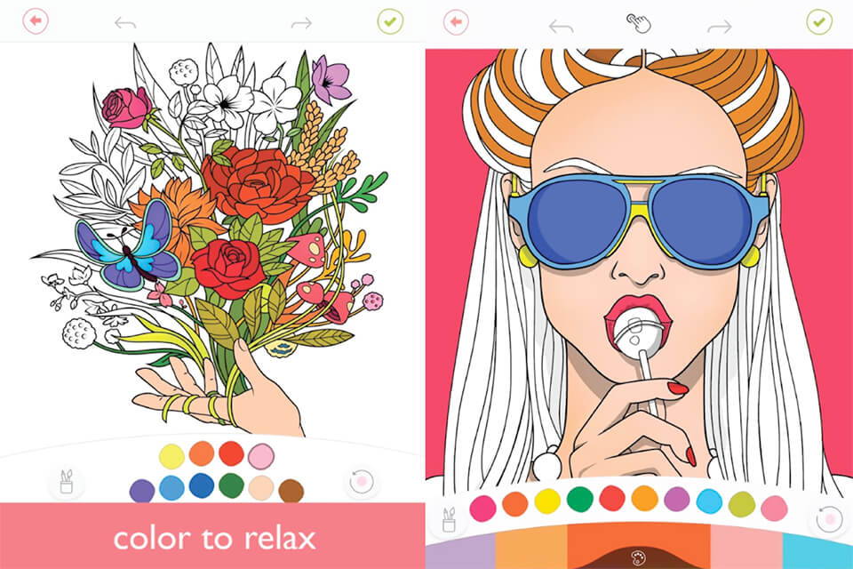 Colorfy coloring app