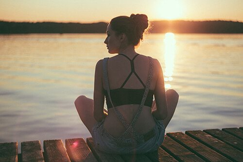 Guided meditation for relaxation