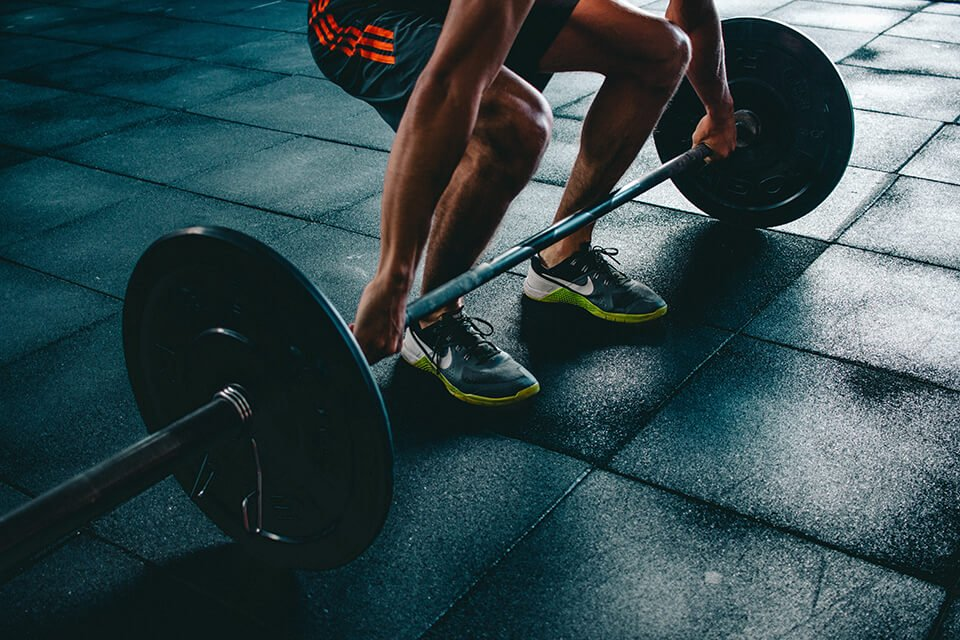 Lifting weights and staying in shape can help when your life seems to be falling apart