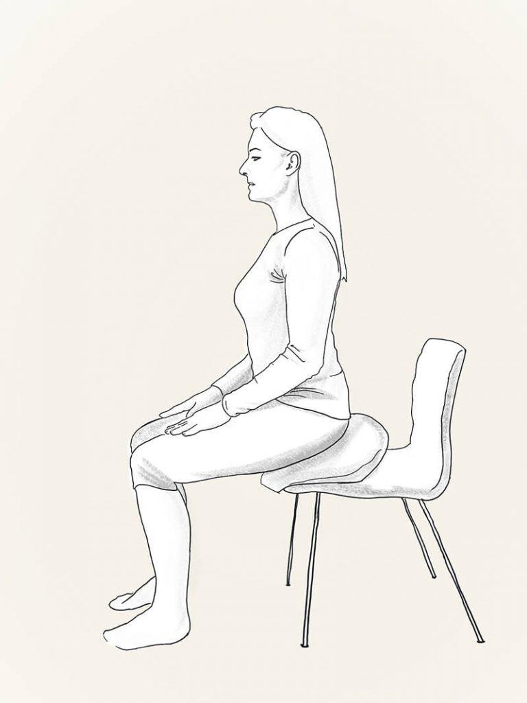 Meditation posture