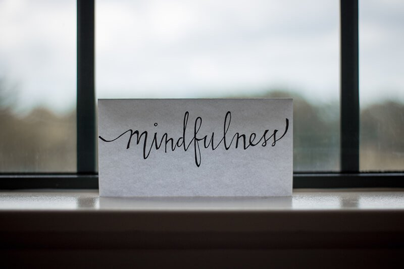 Practice mindfulness to deal with stress at work
