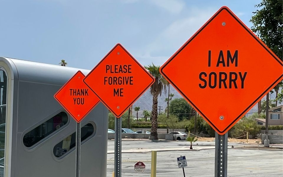 narcissists don't apologize