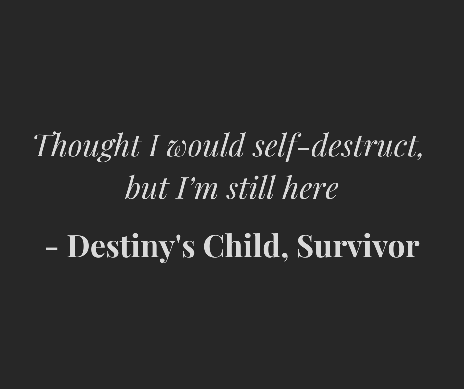Destiny's Child PTSD song
