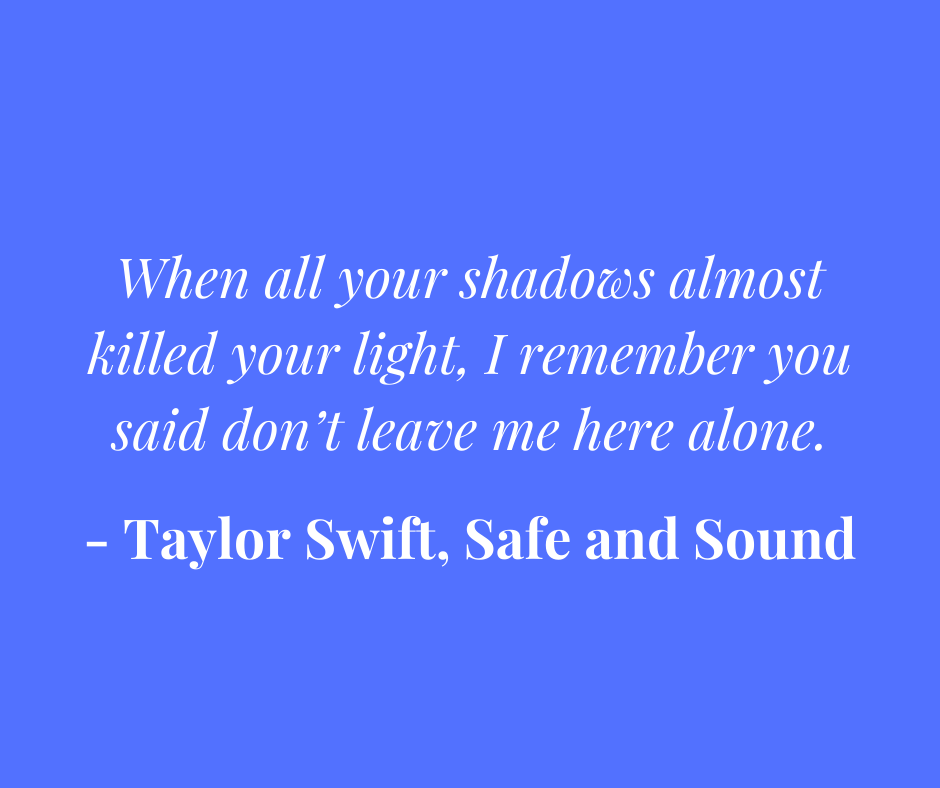 Taylor Swift PTSD song