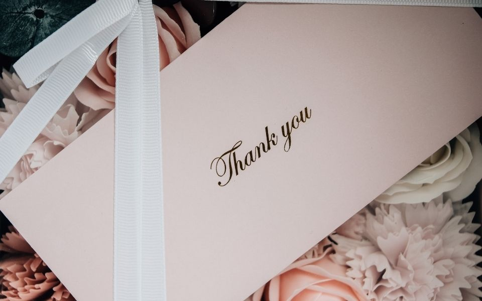 thank you cards for appreciation
