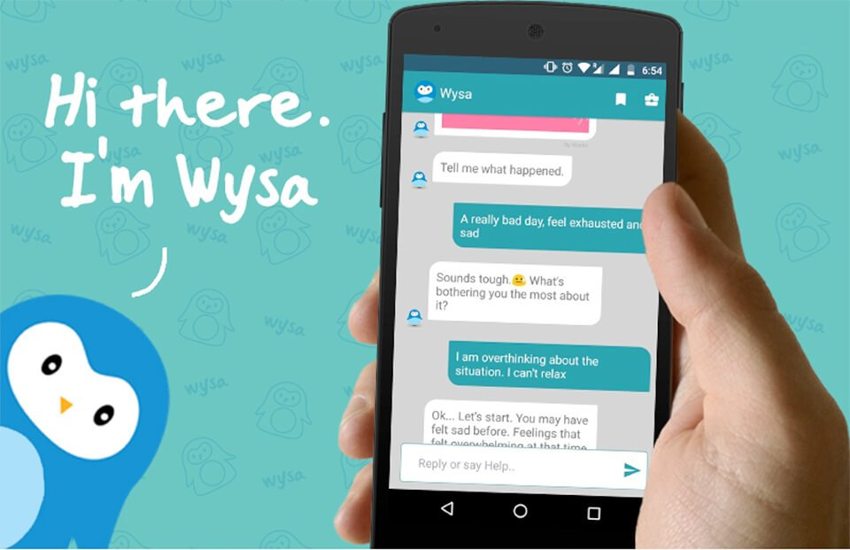 Wysa mental health chatbot